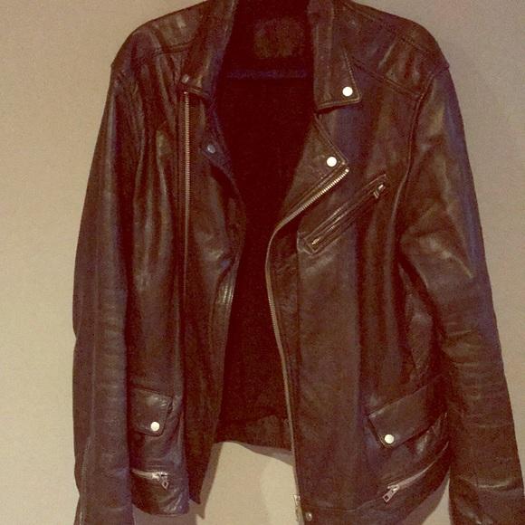 All Saints Other - Men's AllSaints Leather Niko Jacket